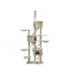 FC01 - Three Condo Cat Tree Size 127Wx41Lx233-260H