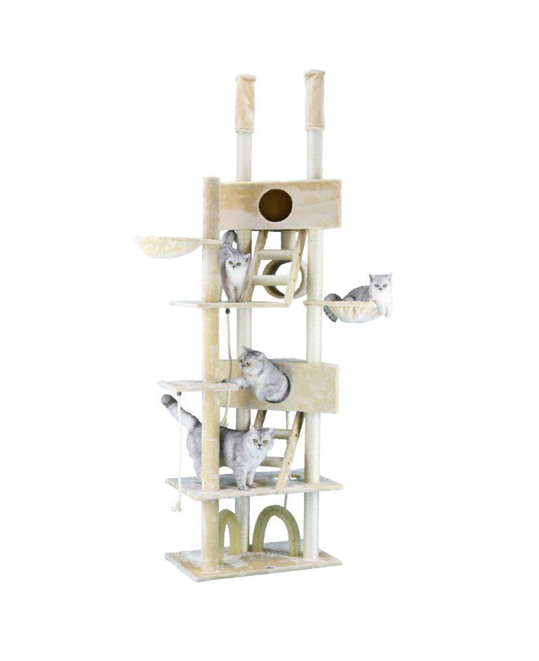 "FC03 scaled - 106"" Cat Tree Condo Furniture (FC03)"