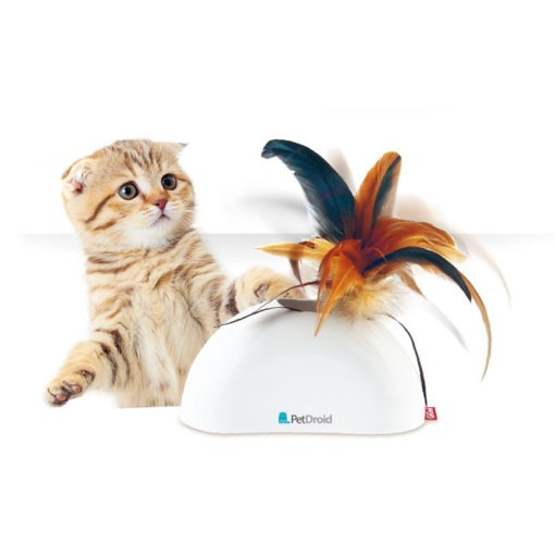 Feather Hider w Natural Feather Sound Module & Motion Sensor