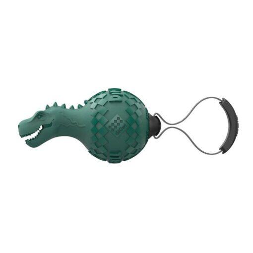 Gigwi Dinoball T Rex 1 - Gigwi Dinoball T-Rex 'Push To Mute' Lake Blue