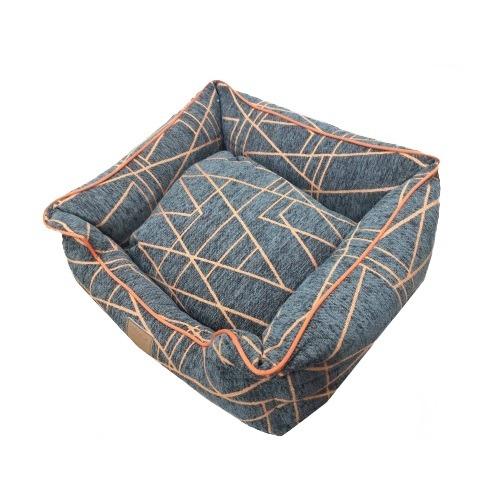 Catry Pet Cushion - orange gray