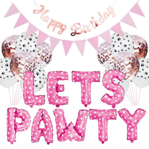 Hanz & Oley party pack pink