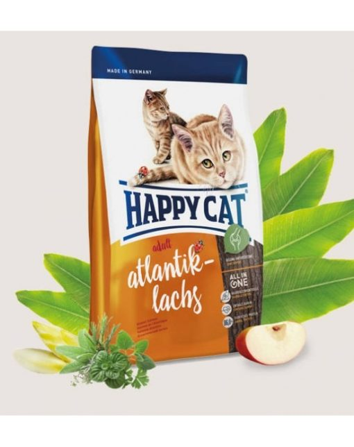 Happy Cat Adult Atlantik Lachs 1 - Happy Cat - Adult Atlantik-Lachs (Atlantic Salmon) - 10 Kg