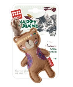 Happy Indians Bear Felt Catnip