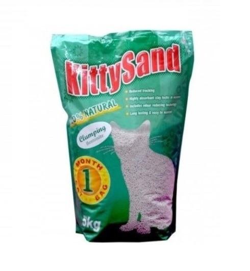 KITTY SAND CLUMPING BENTONITE LITTER 5kg - Kitty Sand - Clumping Bentonite Litter 5Kg