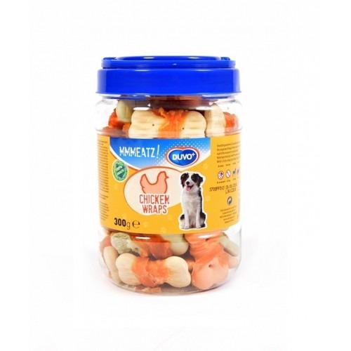 LR311602 500x500 1 - Duvo - Mmeatz Biscuit Chicken Wraps 300g