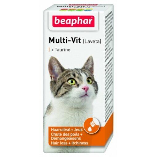 Laveta Tau Cat 1 - Multivitamin Liquid With Taurine For Cat 50 Ml