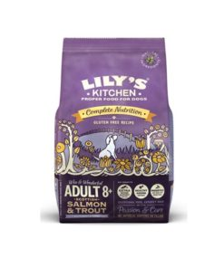 Lilys Kitchen Adult 8plus - Salmon&Trout Gluten Free Dog Dry Food