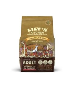 Lilys Kitchen Adult - Venison&Duck Grain Free Dog Dry Food