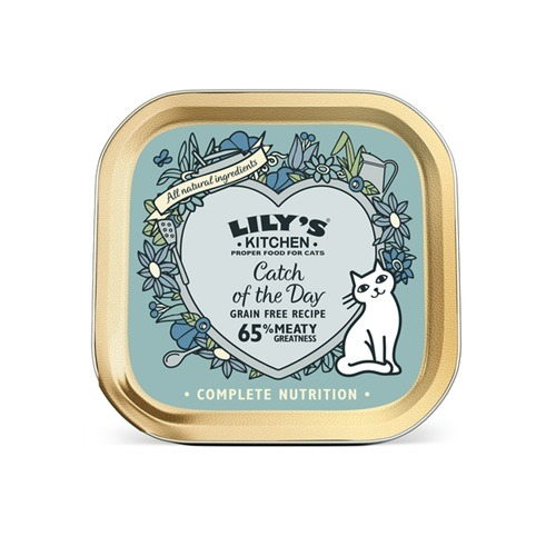 Lilys Kitchen-Catch of the Day for Cats-85g