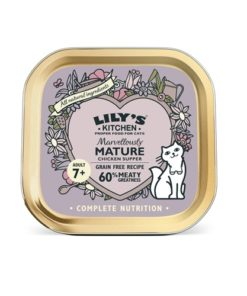 Lilys Kitchen-Chicken Dinner for Marvelously Mature Cats-85g