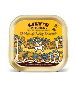 Lilys Kitchen - Chicken & Turkey Casserole-150g