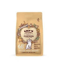 Lilys Kitchen - Delicious Chicken Complete Dry Food for Cats