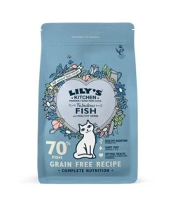 Lilys Kitchen - Fabulous Fish Complete Dry Food for Cats