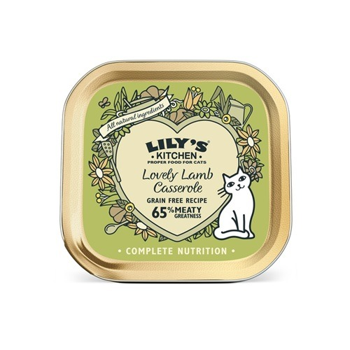 Lilys Kitchen - Lovely Lamb Casserole for Cats-85g