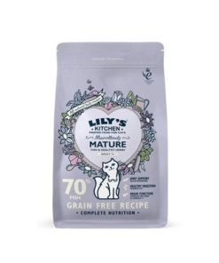 Lilys Kitchen - Marvellously Mature Complete Dry Food for Cats