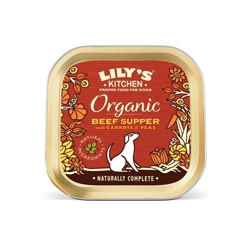 Lilys Kitchen-Organic Beef Supper-150g