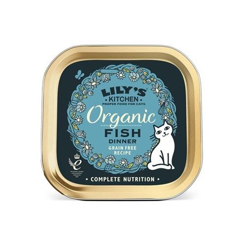 Lilys Kitchen-Organic Fish Dinner-85g