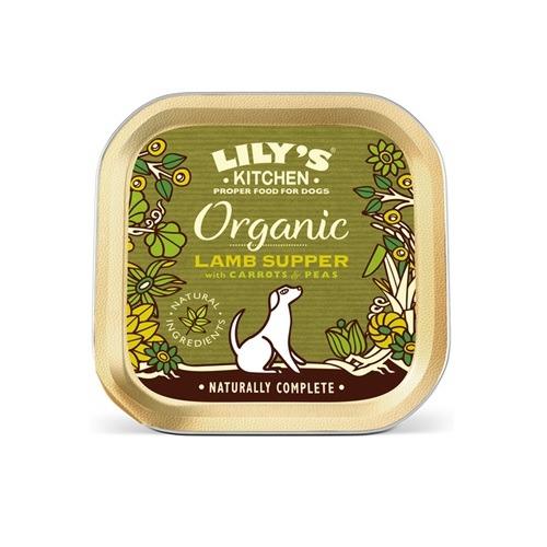 Lilys Kitchen-Organic Lamb Supper-150g