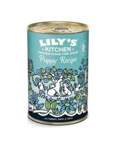 Lily's Kitchen - Turkey & Duck Puppy Recipe-400g
