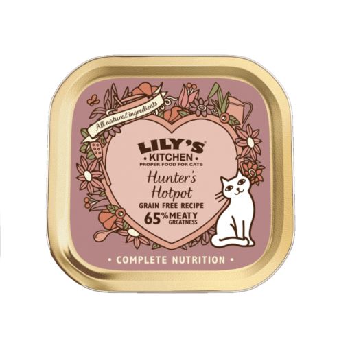 LilysKItchen HUnter Hotpot for CAts 85g - Lily's Kitchen Hunter's Hotpot for Cats