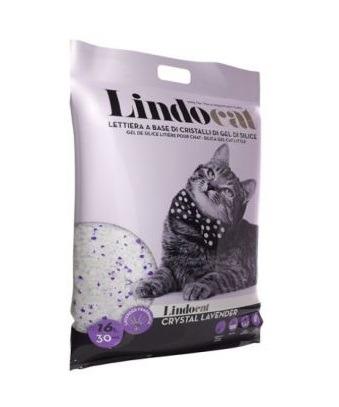 LindoCat Crystal w Lavender Scent 16L - LindoCat - Crystal w/ Lavender Scent