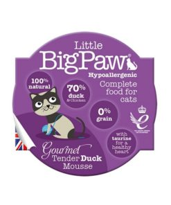 Little Big Paw Cat Gourmet Duck Mousse