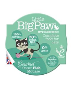Little Big Paw Cat Gourmet Fish Mousse