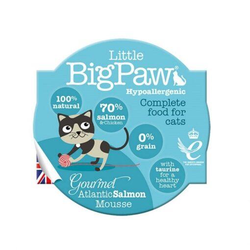 Little Big Paw Cat Gourmet Salmon Mousse