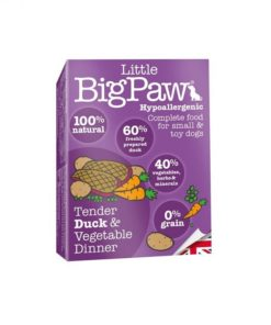 Little Big Paw Dog Duck & Vegetable Dinner