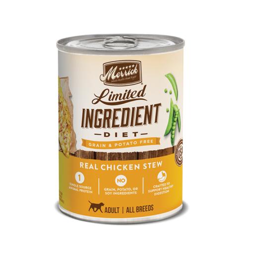 Merrick Grain Free Limited Ingredient Diet Real Chicken Stew