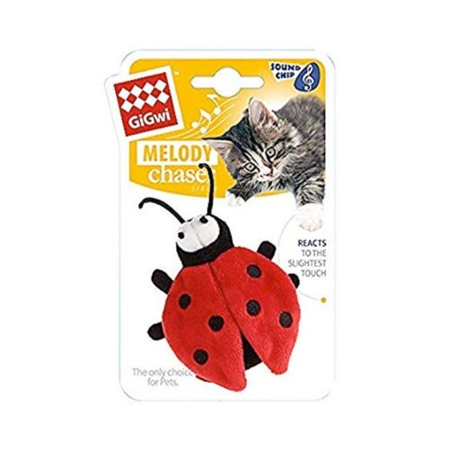 Melody Chaser Beetle with motion Activated Sound Chip