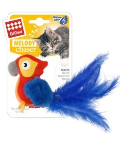 Melody Chaser (Red Parrot) with motion Activated Sound Chip