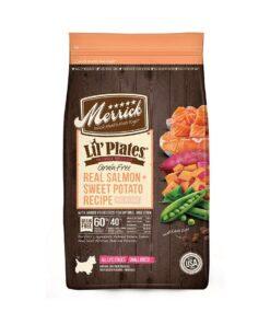Merrick Lil Plates Grain Free Real Salmon Sweet Potato Recipe 1.81Kg