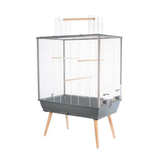 Neo Jili Bird Cage Grey - Zolux - Neo Jili Bird Cage Grey