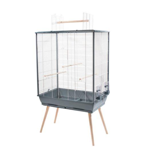 Neo Jili Bird Cage XL Grey - Zolux - Neo Jili Bird Cage XL Grey