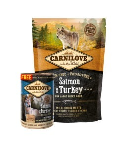 OFFER - Carnilove Salmon & Turkey For Large Breed Adult Dogs