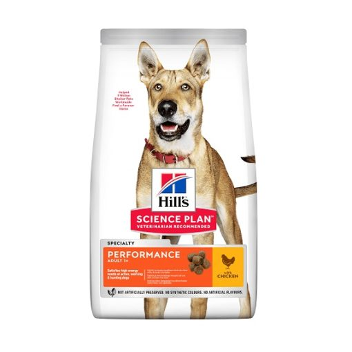 PS1 604383 3D Full Front 2 - Hill's Science Plan – Performance Adult Dog Food With Chicken