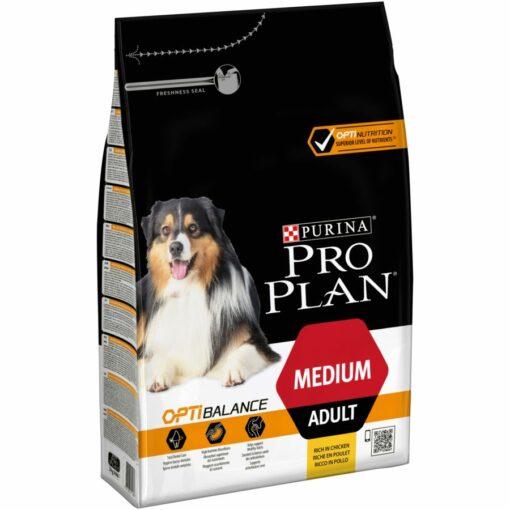 Pro Plan Dog Medium Adult Chicken 3kg 43776011 e1565125061969 - Purina Pro Plan - Medium Adult Dog (Chicken) 14kg