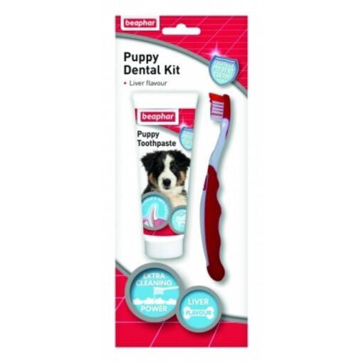 Puppy Dental Kit 2016 MU - Beaphar - Puppy Dental Kit - 50g