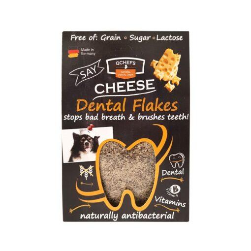Qchefs Dog Dental Flakes