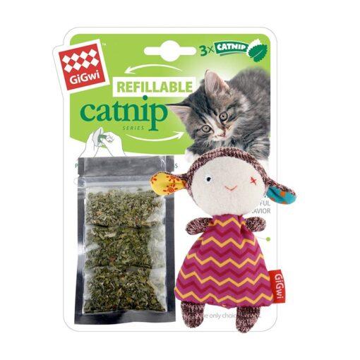 Refillable-Catnip-Sheep