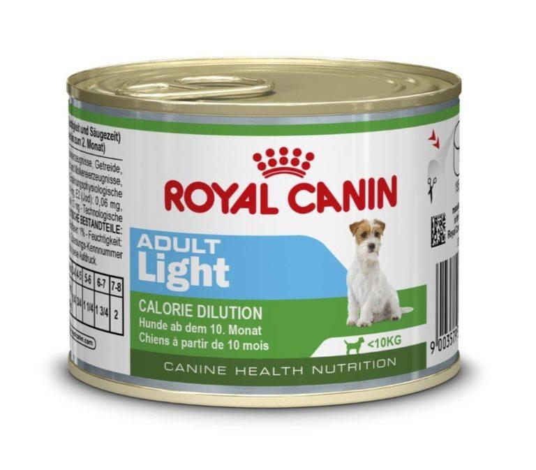 Royal Canin Mini Adult - Light Wet Food (195g)