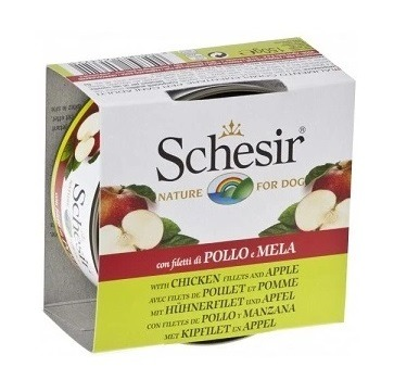 Schesir Chicken fillets with Apple - Schesir Chicken fillets with Apple For Dog