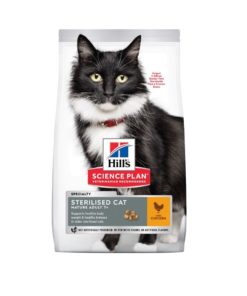 Hill's Science Plan - Feline Sterilised Cat MATURE( +7 y/o)  w/ Chicken (1.5 Kg)
