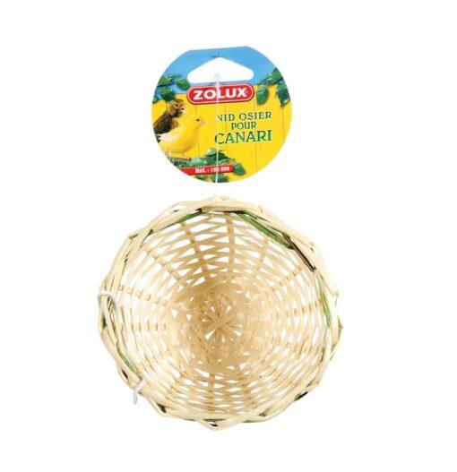 Wicker Canary Nest - Zolux - Wicker Canary Nest