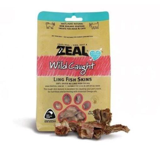 Zeal – Ling Fish Skins 125g - Zeal - Ling Fish Skins (125 g)