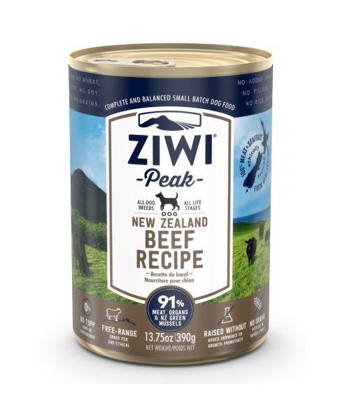 ZiwiPeak Beef Recipe Canned Dog Food 390 g - ZiwiPeak - Beef Recipe Canned Dog Food (390G)