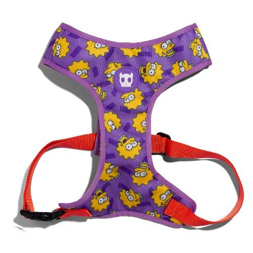 aaa - Zee.Dog Lisa Simpson Air Mesh Plus Harness
