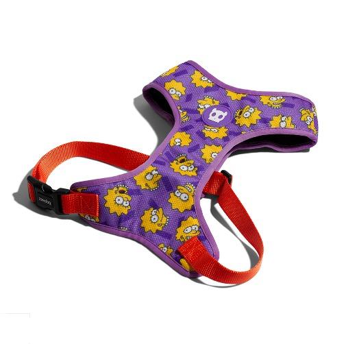 aaaaaa - Zee.Dog Lisa Simpson Air Mesh Plus Harness